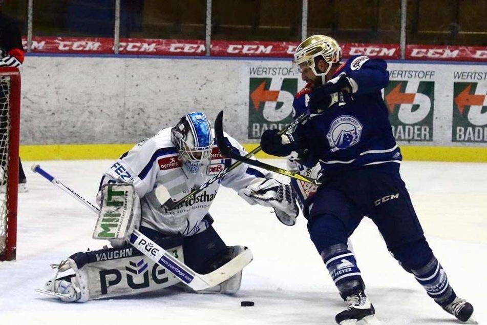 Die Eislöwen verloren am Sonntag gegen den SC Riessersee.