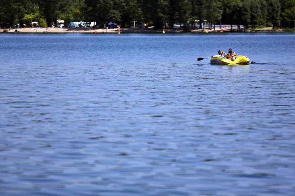 Der Kulkwitzer See ist jeden Sommer ein beliebtes Ausflugsziel für tausende Leipziger.