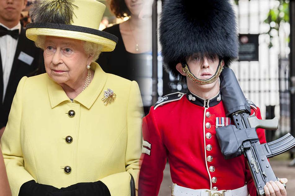 Was für ein Schreck! Die Queen wurde fast von einem ihrer Wachmänner erschossen. (Symbolbild)