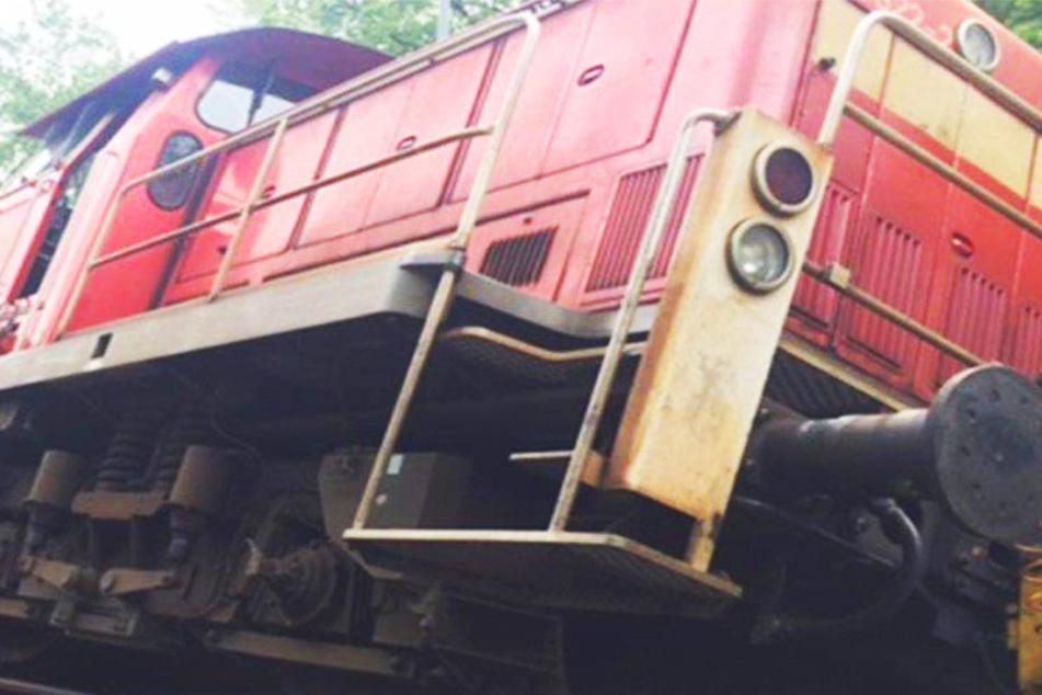 Güterzug auf Vogelsbergbahn entgleist