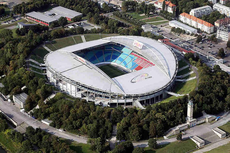 Die Red Bull-Arena könnte zum Austragungsplatz der Fußball-Europameisterschaft 2024 werden.