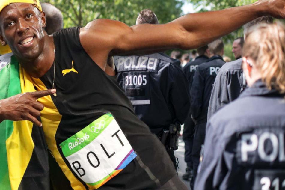 Usain Bolt hätte beim Test der Polizei im Saarland nur 12 Punkte erreicht. (Symbolbild)
