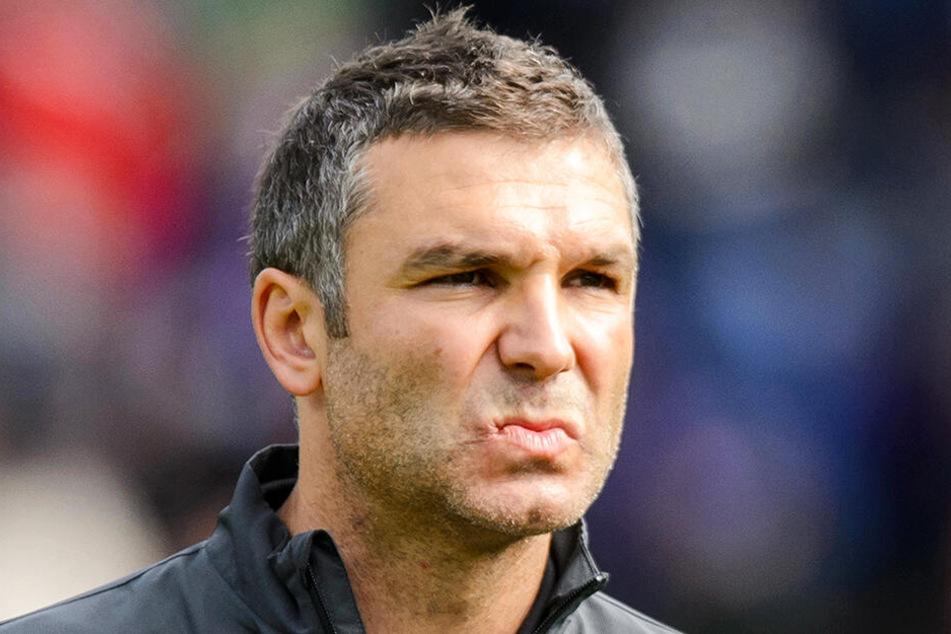 Ex-Aue-Coach Tomislav Stipic übernahm den Trainerposten vom früheren Bayern-Profi Thorsten Fink erst am 6. März 2019.