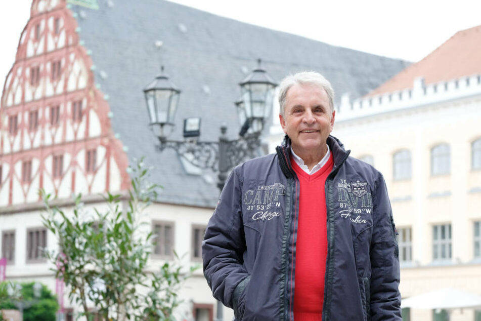 Seiner Heimatstadt Zwickau ist Jürgen Croy bis heutetreu geblieben.