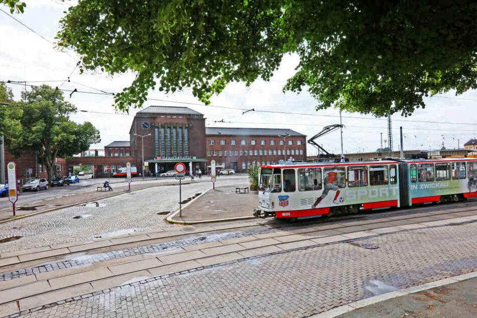 Zwickau: Am Hauptbahnhof rollen bald keine Bahnen mehr