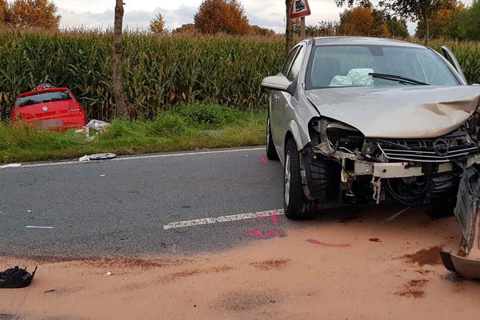 Zwischen Zittau und Hirschfelde kam es am Sonntagabend zu einem schweren Unfall.