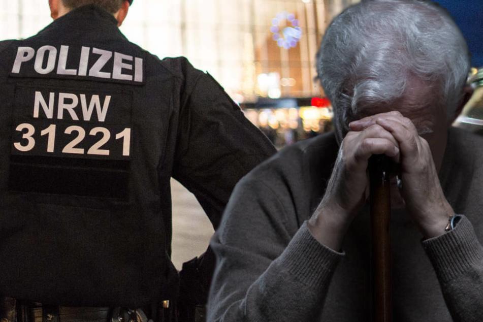 Als einer der Betrüger Geld abholen wollte, schöpfte der Rentner Verdacht (Symbolbild)