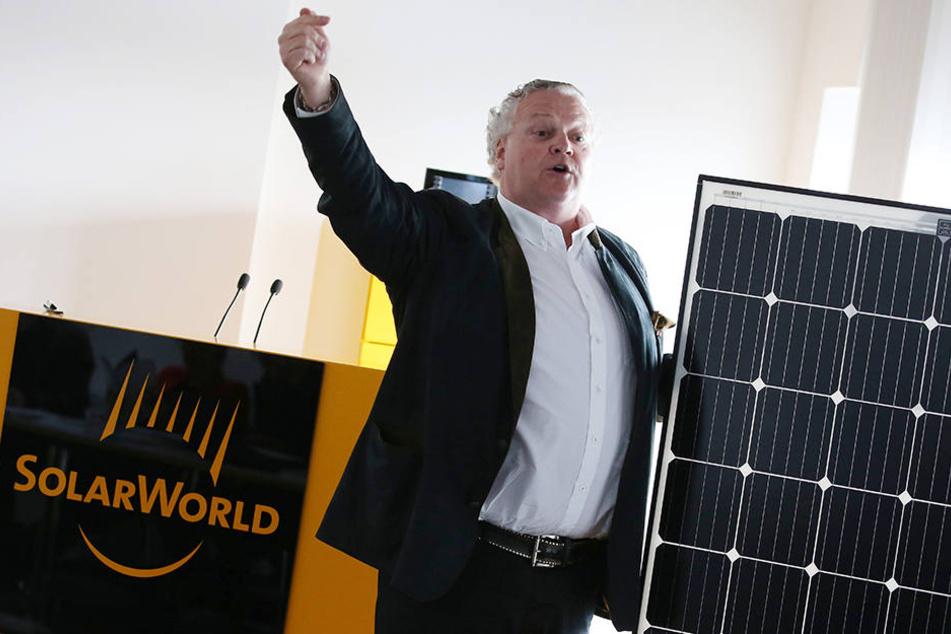 Solarworld-Boss Frank Asbeck kann sich freuen, er hat einen Großauftrag aus der Türkei bekommen. (Archivbild)
