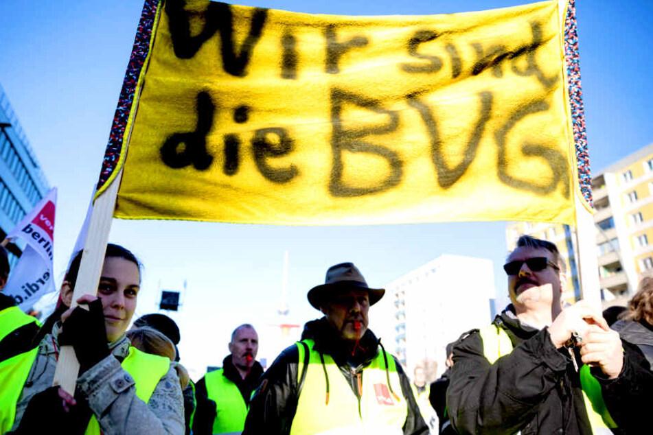 Warnstreik bei der BVG: Heute steht Berlin (fast) still!