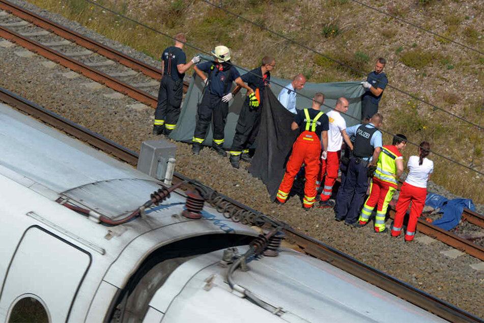 Die Person starb noch an der Unfallstelle.