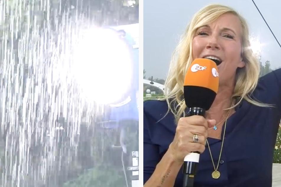 """Jubiläums-Fernsehgarten: """"35 Jahre Trash"""", Wolkenbruch geht über Kiwi und Co. nieder"""