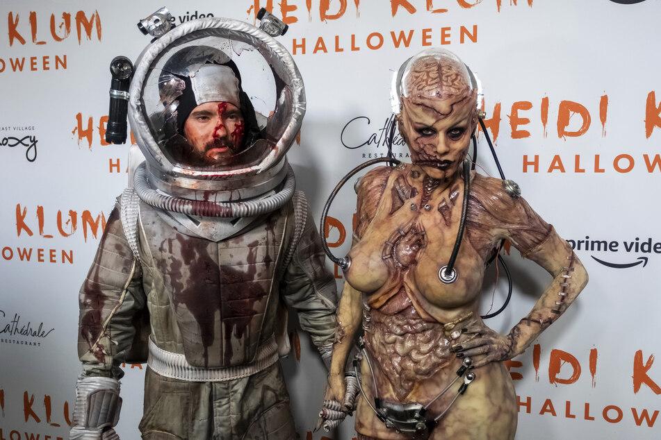 Auch Heidis Mann Tom Kaulitz war in den vergangenen Jahren auf ihren Halloween-Partys.