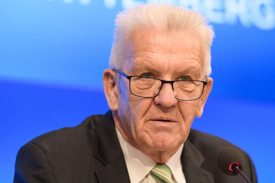 Die Verantwortung liegt, laut Winfried Kretschmann, nicht in der Verantwortung der Landesregierung.