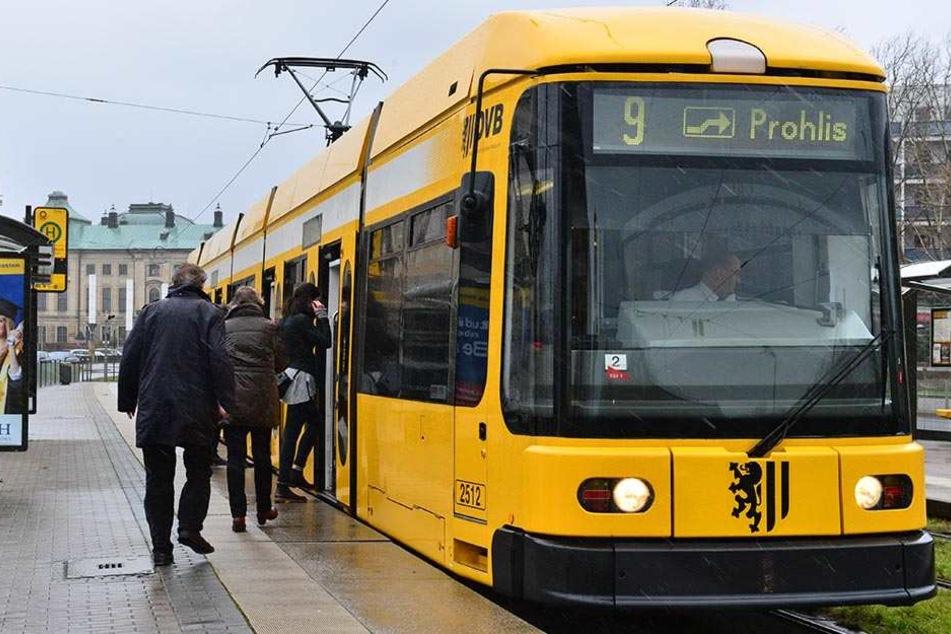 """Dauerbrenner: Mit 1,73 Millionen Kilometern hat der Wagen 2512 des Typs """"NGT 6 DD"""" die höchste Laufleistung aller Linien-Strabas."""