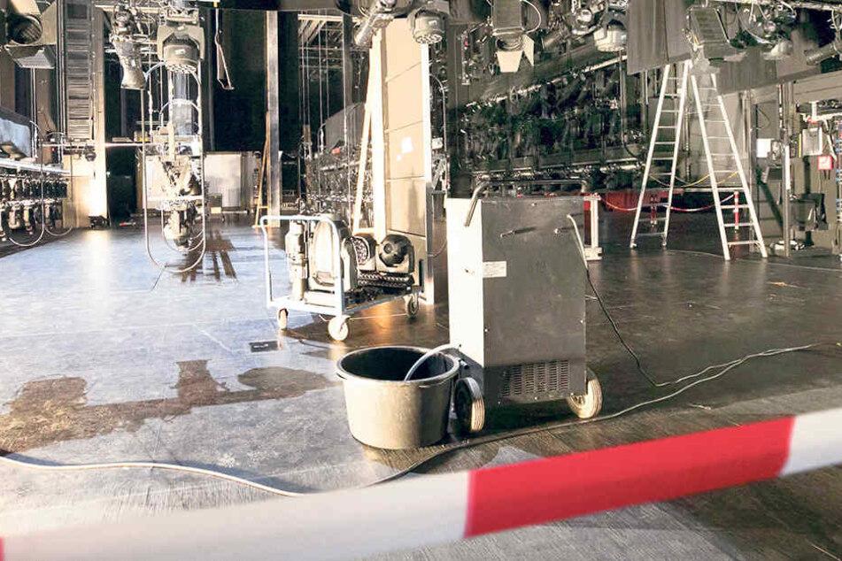Am Mittwoch, 7.15 Uhr am Morgen, sorgte der fatale Irrtum in der Operette für eine Havarie mit  Millionenschaden.