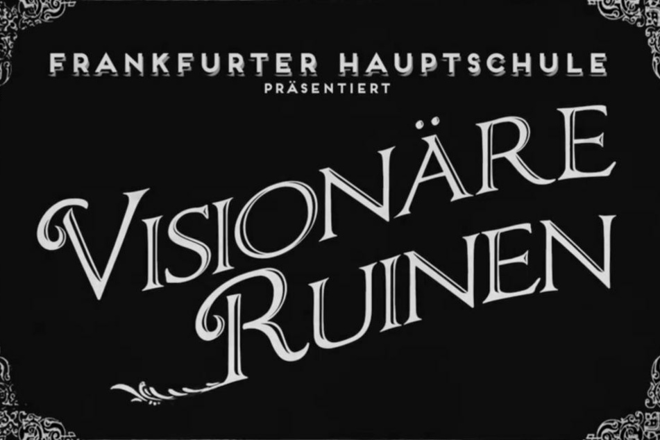 Das Projekt trägt den Titel Visionäre Ruinen.