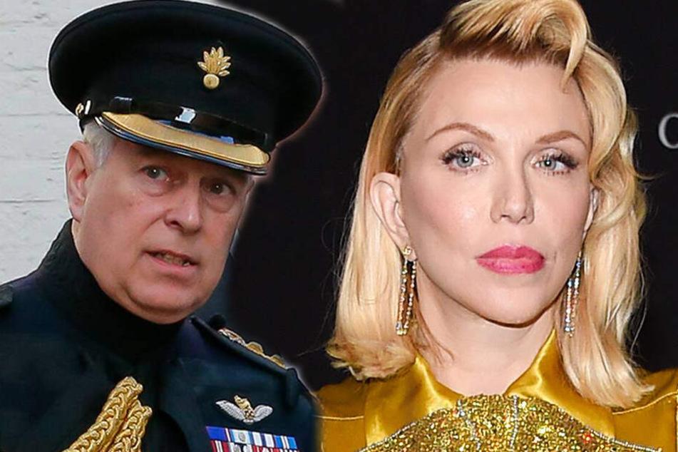Courtney Love behauptet: Prinz Andrew wollte Sex mit mir