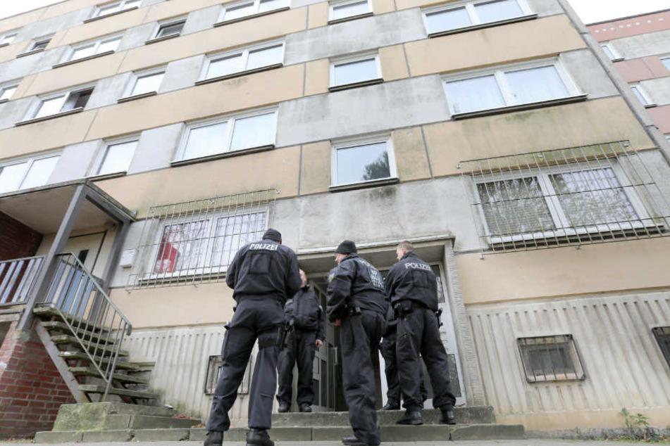 Yamen A. wurde 2017 in seiner Wohnung in einem Schweriner Plattenbau festgenommen.