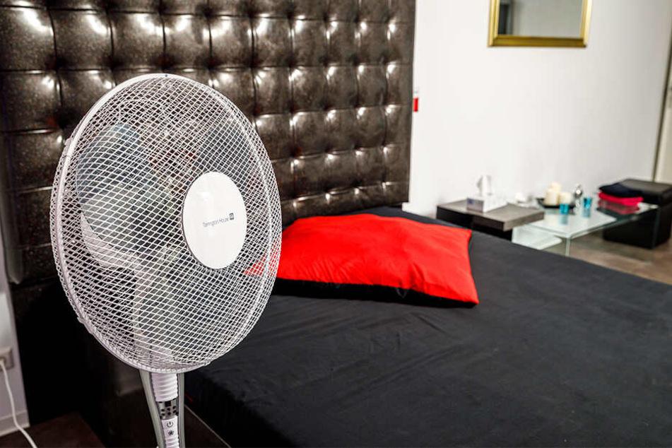 Ein ventilator soll dafür sorgen, dass es nicht zu heiß wird...