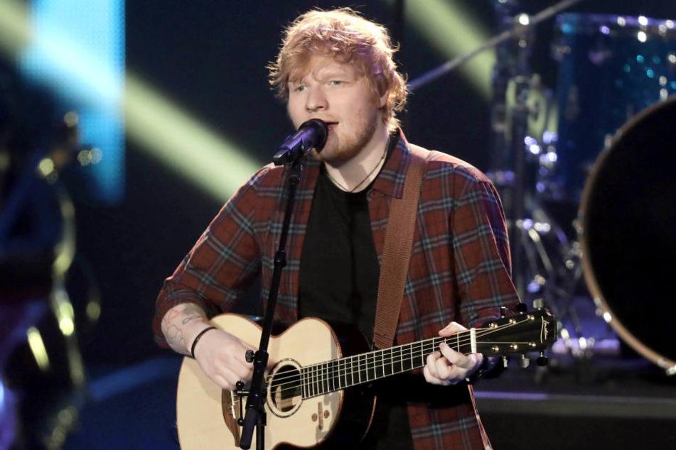 Ed Sheeran (27) möchte gern in Düsseldorf auftreten. Aber darf er auch? (Archivbild)