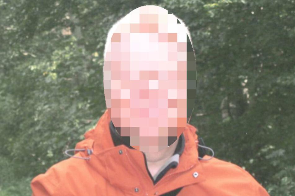 Die Polizei suchte nach dem Mann per Foto.