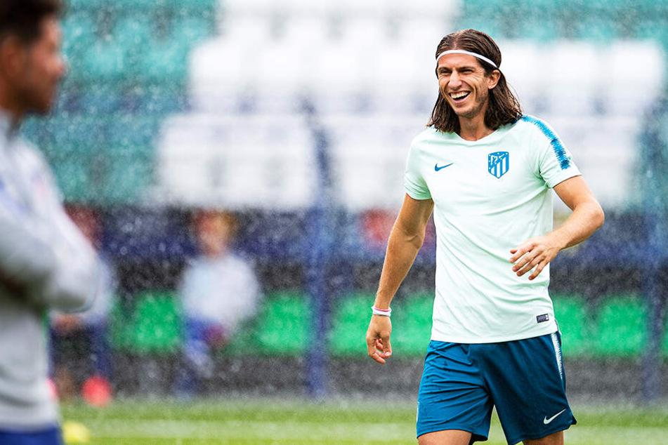 Hat bei Atlético Madrid eine sehr erfolgreiche Zeit: Linksverteidiger Filipe Luís.