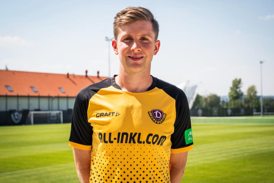 Patrick Weihrauch ist der zwölfte Neuzugang von Dynamo Dresden.