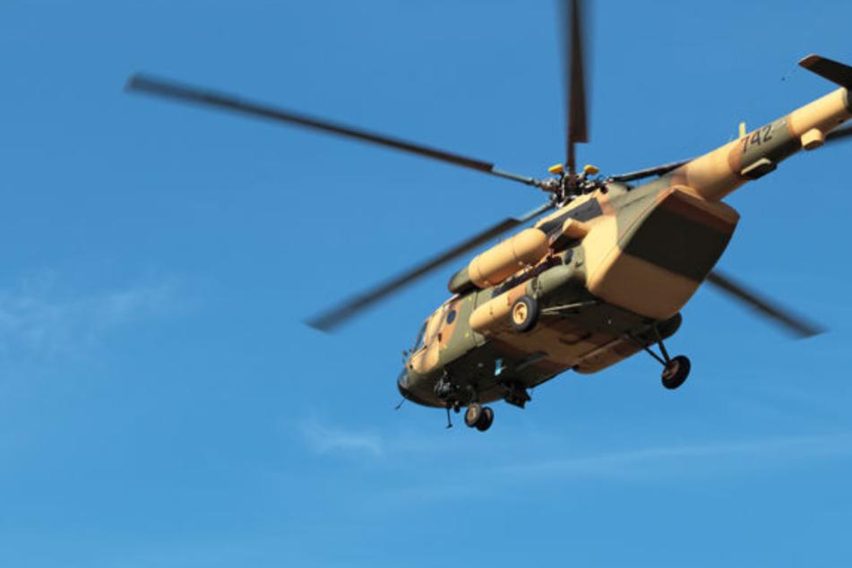 Der Bergsteiger wurde von Helikopterpiloten entdeckt. (Symbolbild)