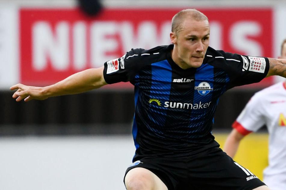 Sven Michel (28) trainiert seit Anfang der Woche wieder mit.
