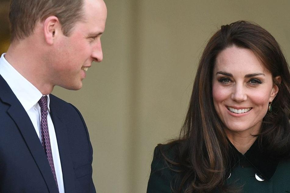 Prinz William (35) und Herzogin kate (35) kommen erstmals zusammen nach Berlin.