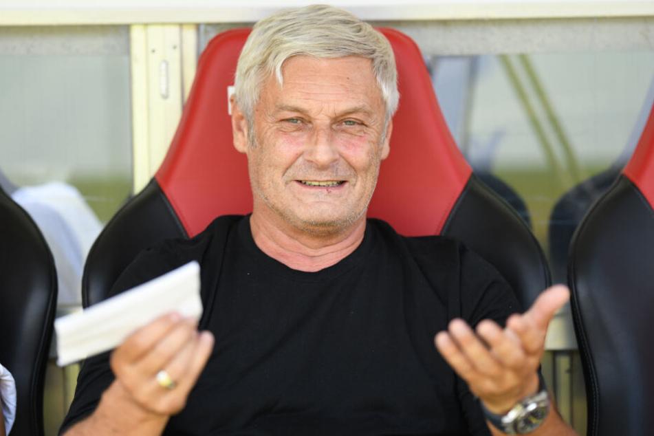 FC-Geschäftsführer Armin Veh (58) sieht beim 1. FC Köln kein Qualitätsproblem.