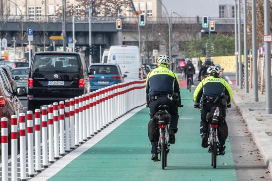 So sieht der sichere Radweg aus.