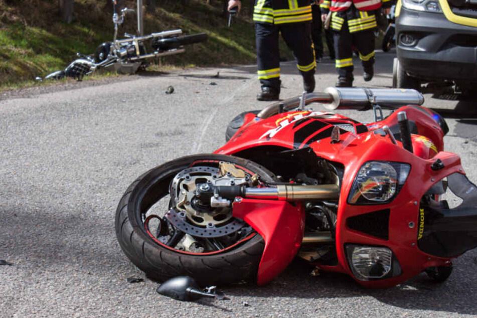 Bereits sieben tote Biker gab es im ersten Halbjahr 2017. (Symbolbild)