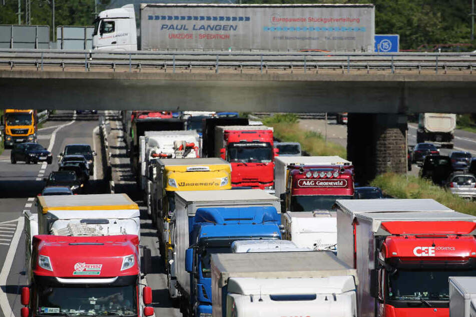 Schwere Lastwagen dürfen nicht mehr in die Kölner City