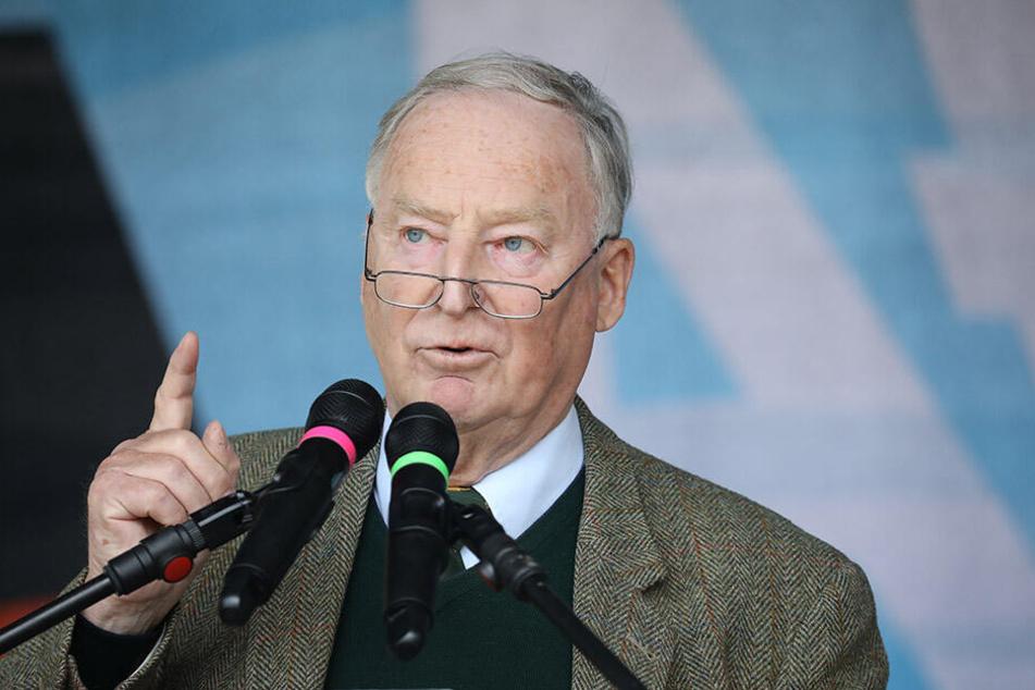 Alexander Gauland, Fraktionsvorsitzender der AfD im Bundestag, sprach von einem schwierigen Wahlkampf für seine Partei.