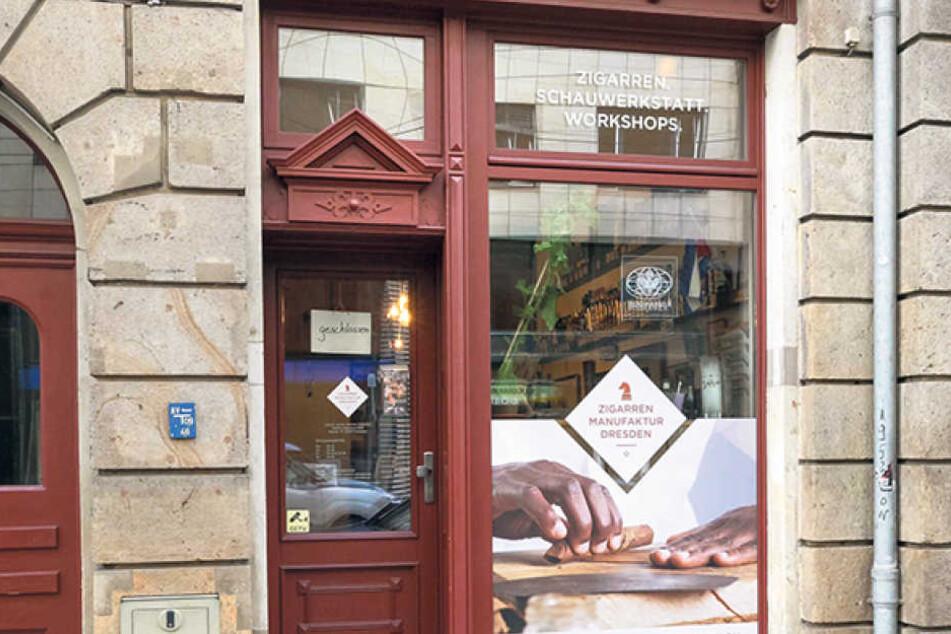 Den kleinen Laden in der Maxstraße gibt's seit 2016.