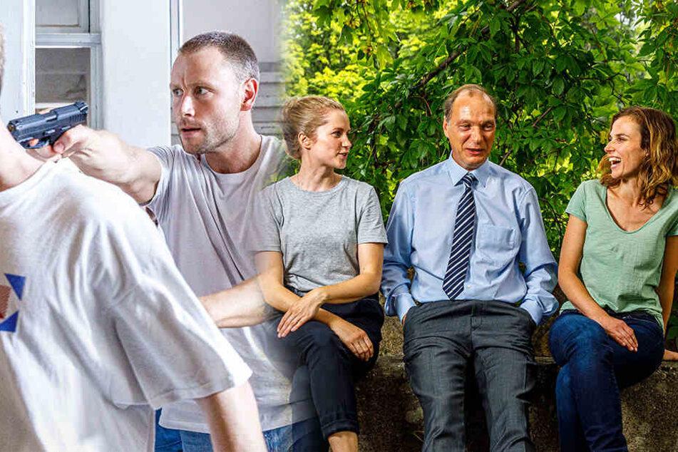 Geiselnahme im Kinderheim: Tatort-Ermittler in Moritzburg
