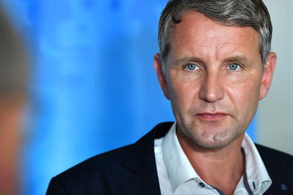 Björn Höcke (47) forderte eine Verabschiedungskultur im Freistaat Thüringen.
