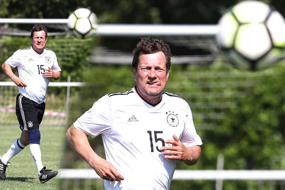 Torsten Gütschow ist noch regelmäßig für die DFB-Altstars.