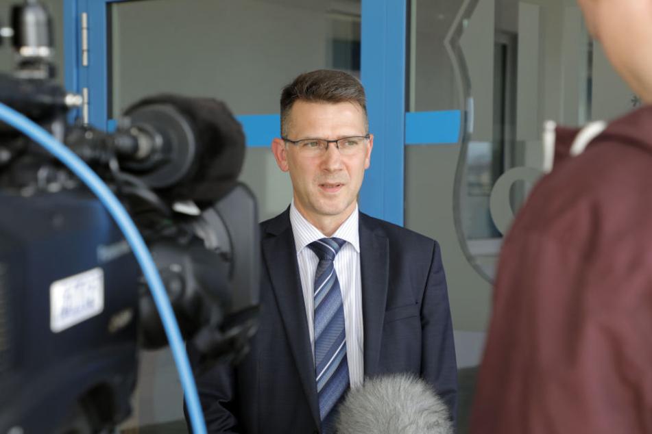 Vorstandsvorsitzender Andreas Georgi.