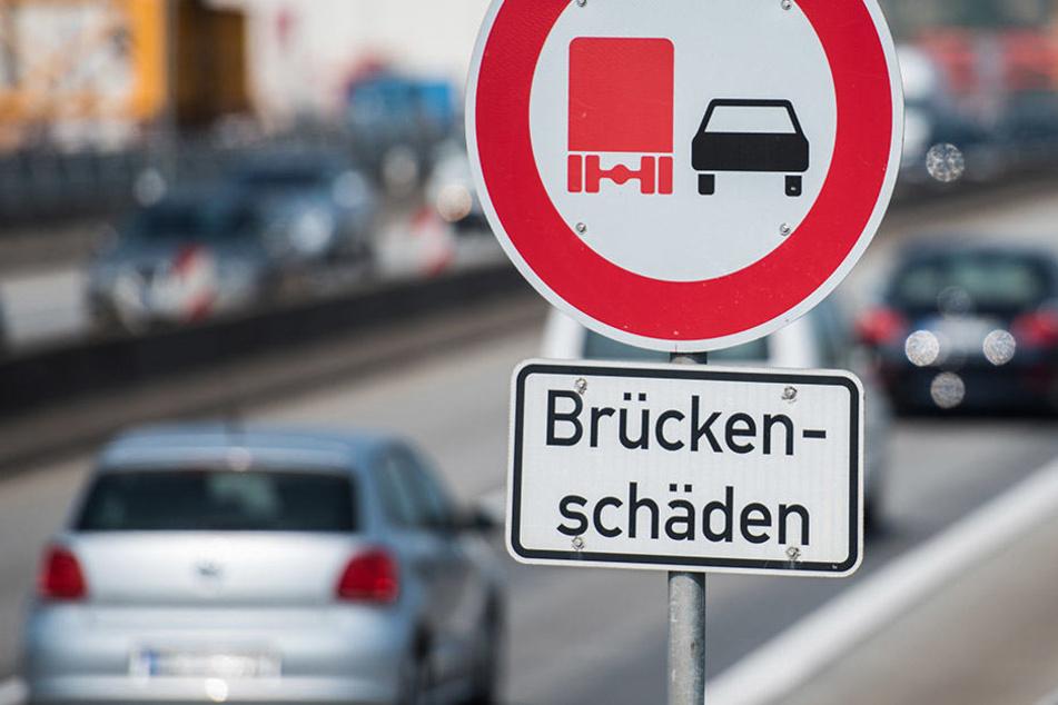 Viele Brücken in NRW wurden in den 60er und 70er Jahren gebaut. (Symbolbild)