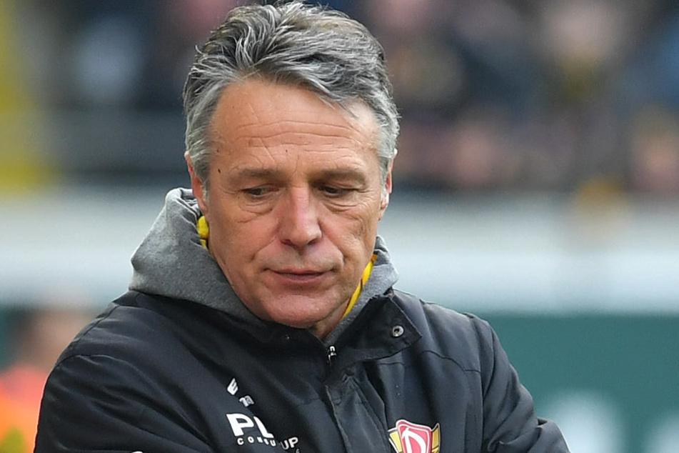 Dynamo-Trainer Uwe Neuhaus weiß, dass auch andere Spieler Fehler gemacht haben.