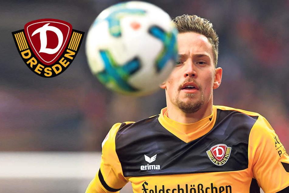"""Jannik Müller bleibt Dynamos """"Mr. Zuverlässig"""""""
