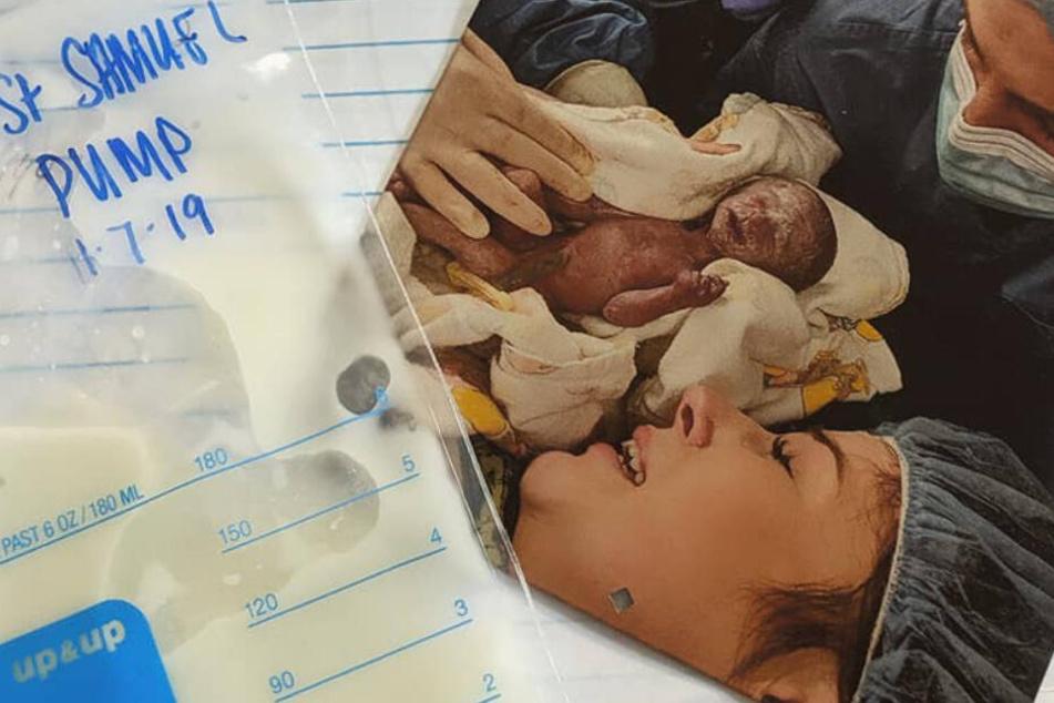 So wurde die Mutter eines toten Babys nach der Geburt zur Heldin
