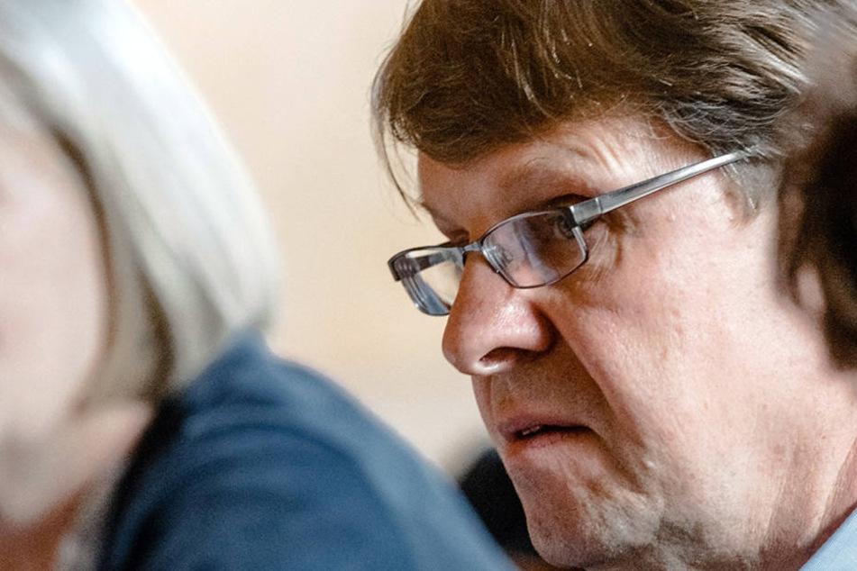 Ralf Stegner (57, SPD) gilt als linker Hardliner in der SPD.