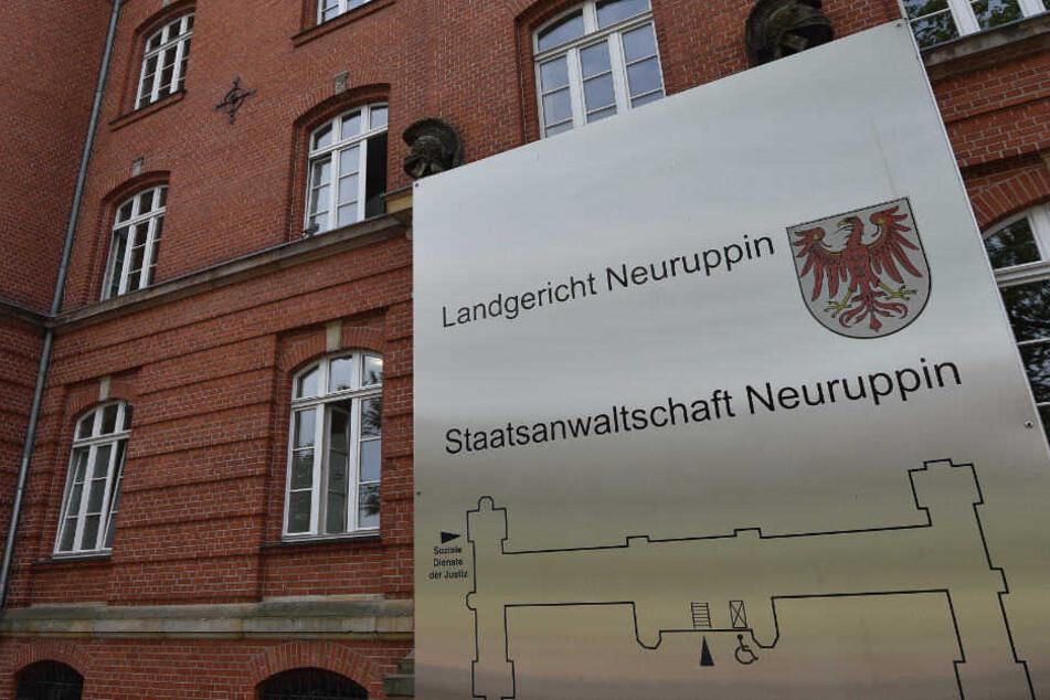 Am Mittwoch gestand der Angeklagte im Landgericht Neuruppin die Tat.