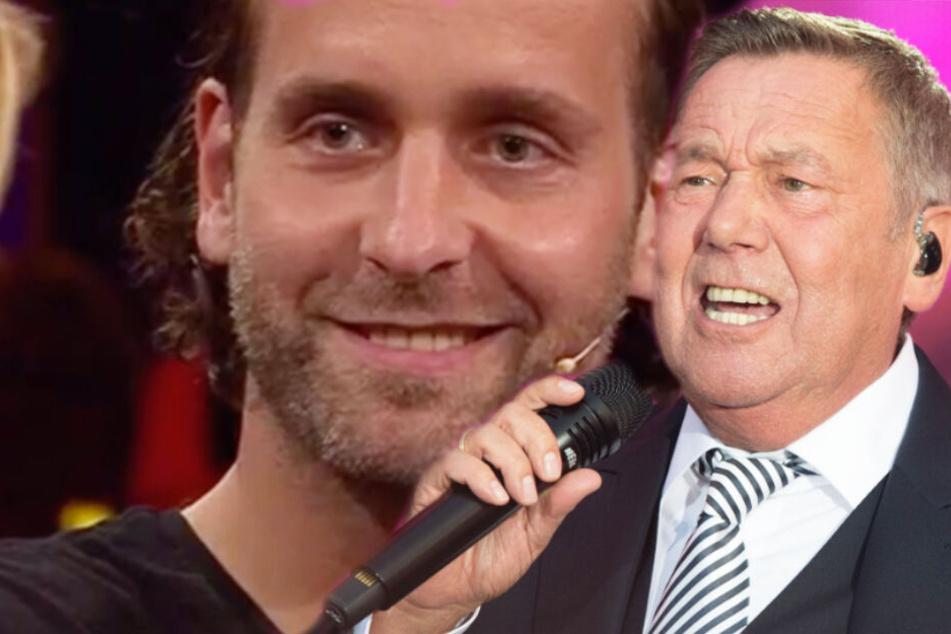 Ob Roland Kaiser Handball-Star Silvio Heinevetter zur Kaisermania einlädt?