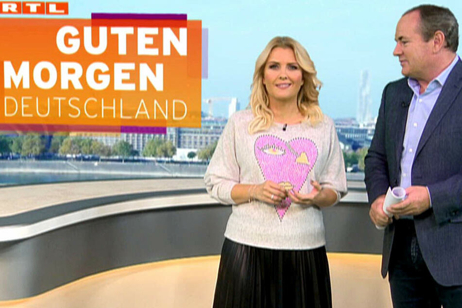 Eine Stunde später führte Jennifer Knäble das gute Stück bei RTL vor.