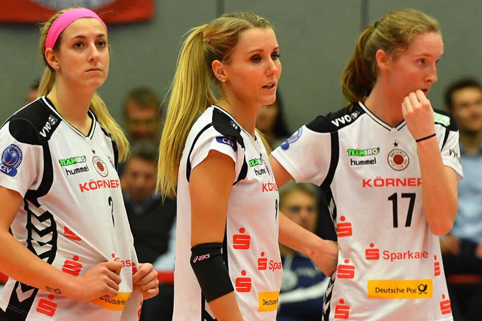 Lange Gesichter soll es in den entscheidenden Wochen der Play-offs bei den DSC-Volleyballerinnen nicht mehr geben.