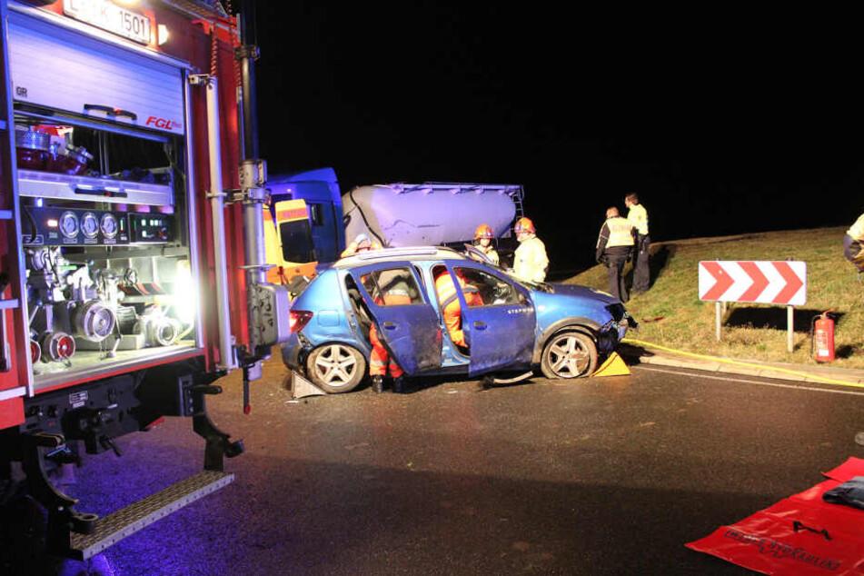 Die Frau wurde schwer verletzt.